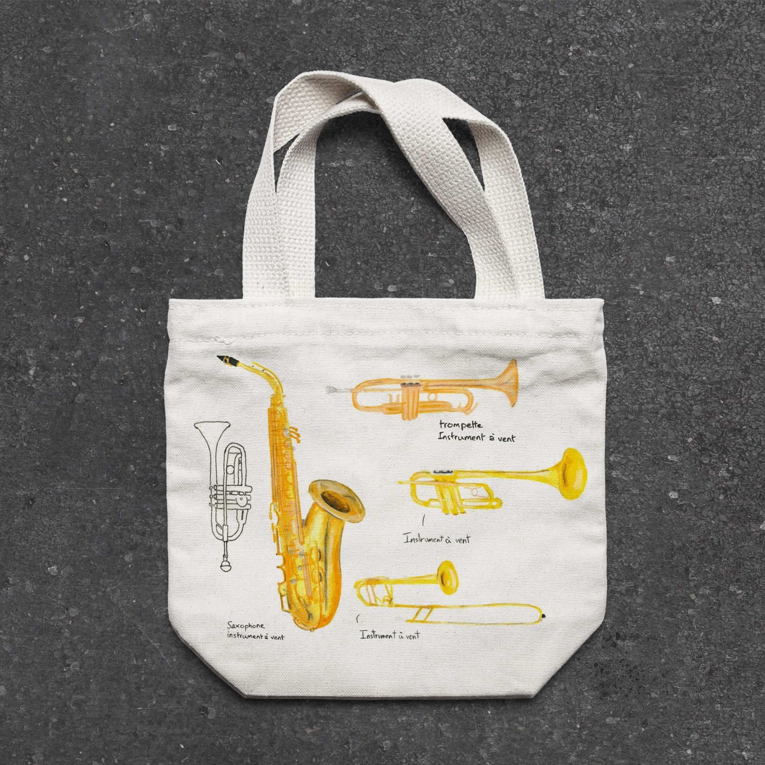 bag trompettes supdesign