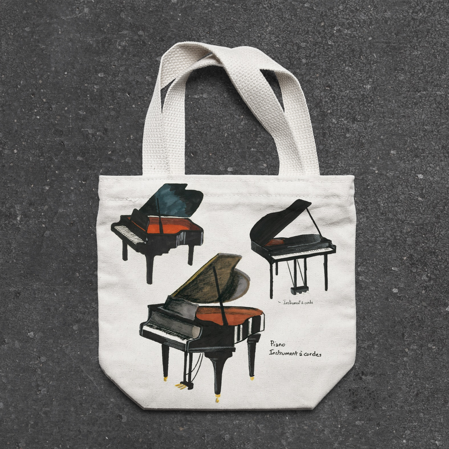 piano bag supdesign